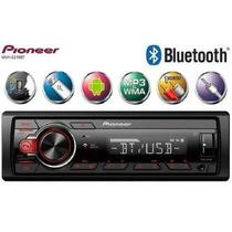 Som Automotivo Radio Mp3 para Carro Pioneer Mvh-S218bt Bluetooth Usb Aux -