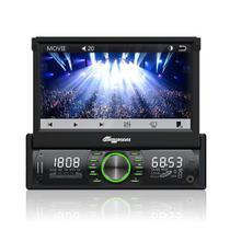 Som Automotivo Tela de 7 Touch, BT, Viva-voz, USB, SD e Aux. - Aquarius