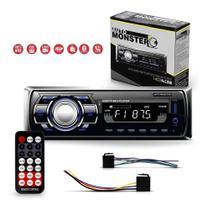 Som Mp3 Automotivo Radio Bluetooth Leitor Cartão Sd Usb - Auto Monster