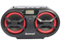 Som Portátil Bluetooth Amvox AMC 595 New BT - USB AM/FM CD Player 15W -