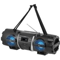Som Portátil Philco FM 200W CD Player Display Digital PB500BT Bluetooth Entrada USB MP3 -