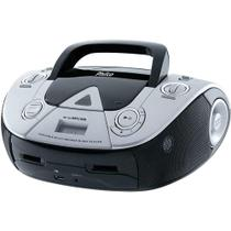 Som Portátil Philco PB126L com CD Player MP3, Rádio FM, Entrada USB/Auxiliar de Áudio