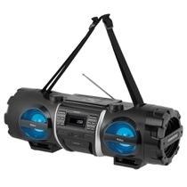 Som Portátil Philco PB500BT, Bluetooth, USB, Auxiliar, Rádio FM, Display Digital, Bivolt -