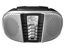 Som Portátil Philips AM/FM 5W CD Player - Display LCD CD Soundmachine Entrada USB