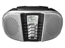 Som Portátil Philips AM/FM 5W CD Player - Display LCD CD Soundmachine Entrada USB