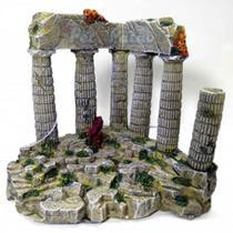 Soma enfeite de resina para aquário ruína grega 05 ( 040144 ) - un -