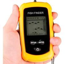 Sonar Portátil Com Sonda Ultra-sônica Para Pesca Fish Finder -