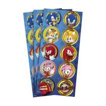 Sonic Adesivo Redondo c/30 - Regina -