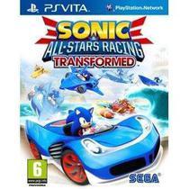 Sonic All Star Racing Transformed Ps Vita Midia Fisica - Psvita