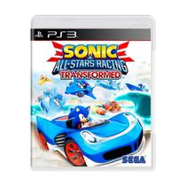 Sonic All Star Racing Transformed Ps3 Midia Fisica -