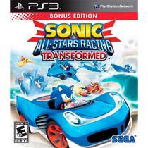Sonic & All-Stars Racing Transformed Bonus Ps3 Sega -