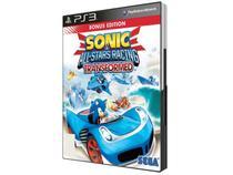 Sonic & All-Stars Racing Transformed - para PS3 - Sega