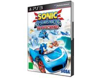 Sonic All-Stars Racing Transformed para PS3 - Sega