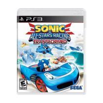 Sonic All Stars Racing Transformed - PS3 - Sega