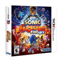 Sonic Boom Fire e Ice - 3DS - Sega