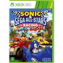 Sonic e SEGA All Stars Racing com Banjo-Kazooie - XBOX 360 - Microsoft