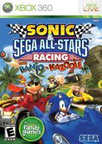 Sonic E Sega All-Stars Racing With Banjo-Kazooie - Xbox 360 - Microsoft