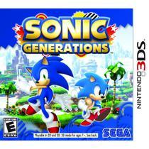 Sonic Generations - 3Ds - Nintendo
