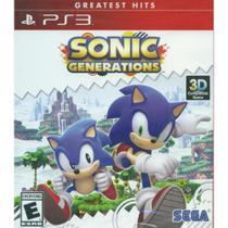 Sonic Generations Greatest Hits - Ps3 - Sony