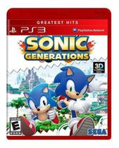 Sonic Generations - Ps3 Greates Hits - Sega