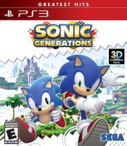 Sonic generations - ps3 - Sega