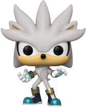Sonic Hedgehog - Boneco Pop Funko Silver Sonic 633 - Marca: Funko
