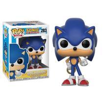 Sonic Hedgehog Boneco Pop Funko Sonic Com Anel 283 -