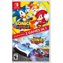 Sonic Mania e Team Sonic Racing Double Pack Switch -