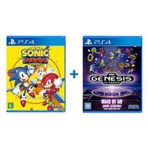 Sonic Mania Plus + Sega Genesis Classics - PS4 - Mojang