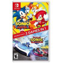 Sonic Mania + Team Sonic Racing Double Pack - Nintendo Switch - Sega