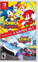 Sonic Mania + Team Sonic Racing Double Pack - Switch - Nintendo