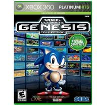 Sonic's Genesis Ultimate Collection - Xbox 360 - Sega