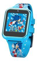 Sonic The Hedgehog Smartwatch Relógio Inteligente Kids Jogos - Sega