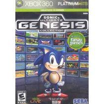 Sonic Ultimate Genesis Collection Xbox 360 Midia Fisica - Xbox360
