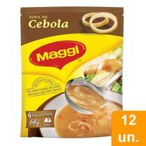 Sopa Maggi Cebola 68g Embalagem com 12 Unidades -