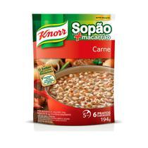 Sopão Com Macarrão Knorr Sachê Carne 195g -