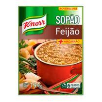 Sopão Com Macarrão Knorr Sachê Feijão 194g -