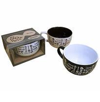 Sopeira 450ml Ceramica Rio De Ouro Preta -