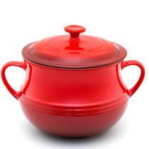 Sopeira de Cerâmica Le Creuset Vermelha 4L -