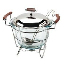 Sopeira de vidro com concha nappa 4 litros - regent inox -