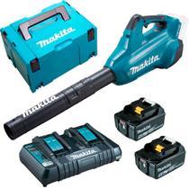 Soprador à Bateria DUB362Z + 4Baterias+ Carregador+ Maleta Mak-Pac -KIT-Makita -