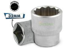 Soquete Estriado De 1/2 X 32 Mm - Stels -