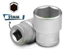 Soquete Sextavado De 1/2 X 21 Mm - Stels -