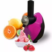 Sorveteira Yofruit Maquina Sorv Frozen 110v Eterny Rosa -
