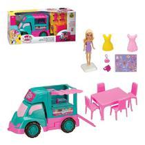 Sorveteria Food Truck Judy Com Boneca - Samba Toys -