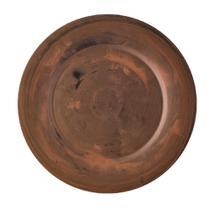 Souplat Redondo Ø 33cm em Polipropileno cor Cobre OU -