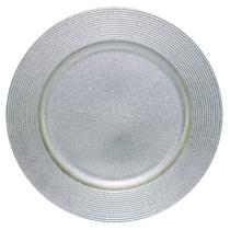 Souplat Redondo Prata 33 cm Mimo Style -
