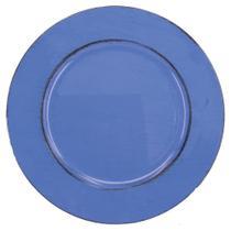 Sousplat Azul Liso - Decorafast Plus