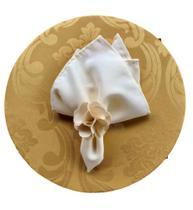 Sousplat capa Dourado - Tecidos Castro