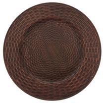 Sousplat Rattan Bronze 7040 - Mimo Style -